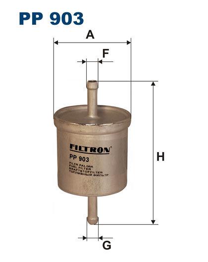 Filtr paliwa FILTRON PP903 - darmowa dostawa do 5000 warsztatów Motointegrator Partner i 170 sklepów Inter Cars