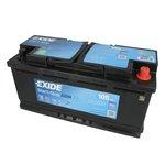 Akumulator EXIDE STARS STOP AGM EK1050 - 105Ah 950A L+
