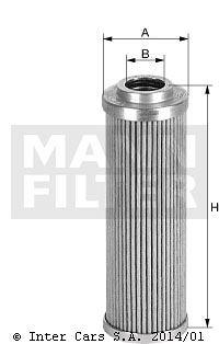 Filtr hydrauliczny MANN FILTER HD 513/11
