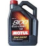 Olej MOTUL 8100 Eco-nergy 5W30, 5 litrów