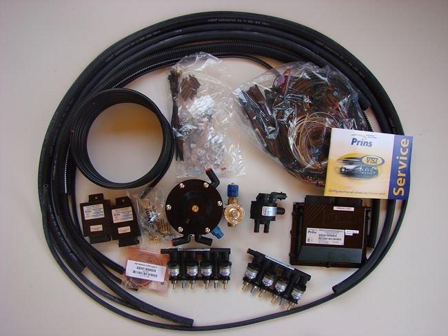Kit wtrysku sekwencyjnego VSI PRINS 8 cylindrów, 63 cc
