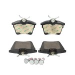Ceramiczne klocki hamulcowe JURID WHITE 573133JC