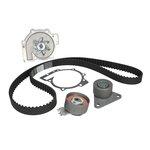 Rozrząd komplet (pasek + rolka + pompa wody) HEPU PK00560