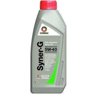 Olej COMMA Syner-G 5W40, 1 litr