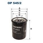 Filtr oleju FILTRON OP545/2