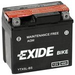 Akumulator EXIDE BIKE AGM YTX5L-BS