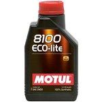 Olej MOTUL 8100 Ecolite 0W20, 1 litr