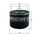 Filtr oleju KNECHT OC 1290