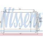 Chłodnica klimatyzacji NISSENS 94731
