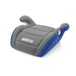 Siedzisko samochodowe SPARCO F100k 15-36 kg - niebiesko-szary