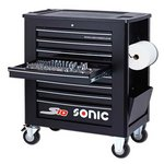 Wózek narzędziowy z wyposażeniem SONIC 734309