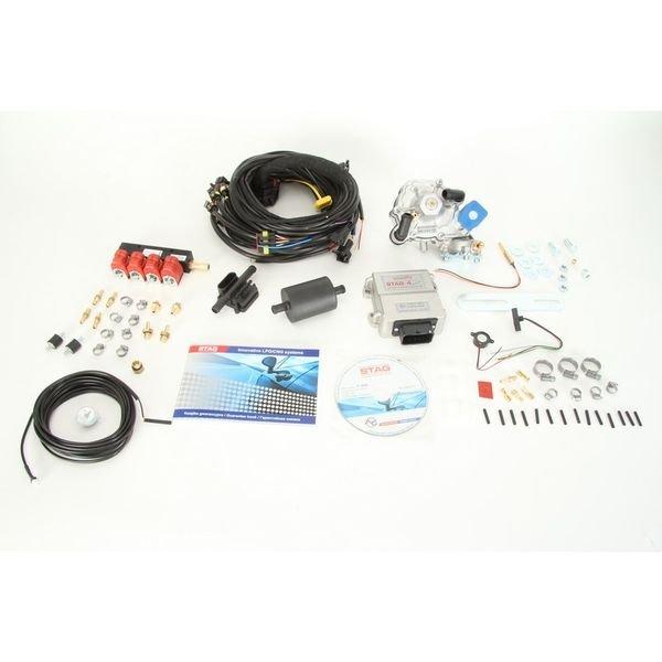 Kit wtrysku sekwencyjnego STAG-4 Plus z reduktorem - darmowa dostawa do 5000 warsztatów Motointegrator Partner i 170 sklepów Inter Cars