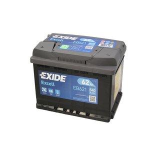 Akumulator EXIDE EXCELL EB621 - 62Ah 540A L+