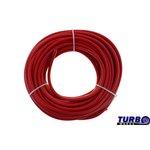 Przewód podciśnienia silikonowy TurboWorks Red 6mm x 100cm