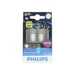 Żarówka LED (pomocnicza) W5W PHILIPS X-tremeVision LED - karton 2 szt.