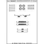 Zestaw montażowy szczęk hamulcowych QUICK BRAKE 105-0012
