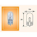 Żarówka (pomocnicza) W5W MAGNETI MARELLI Standard - karton 10 szt.