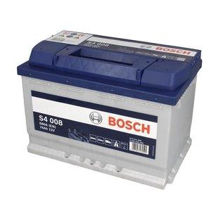 Akumulator BOSCH SILVER S4 007 - 72Ah 680A P+ - Montaż w cenie przy odbiorze w warsztacie!