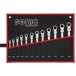 Zestaw kluczy płasko-oczkowych SONIC 12 sztuk