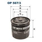 Filtr oleju FILTRON OP567/3