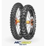 Opona cross/enduro METZELER 110/90R19 TT 62 M MC360 MID SOFT Tył