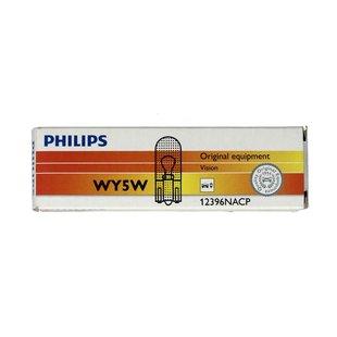 Żarówka (pomocnicza) WY5W PHILIPS Orange - karton 10 szt.