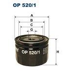 Filtr oleju FILTRON OP520/1