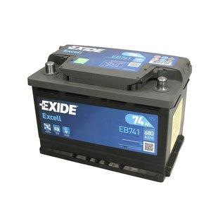 Akumulator EXIDE EXCELL 74Ah 680A L+