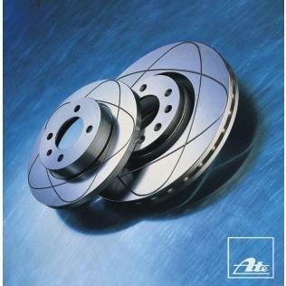 Tarcza ATE Power Disc Ford C-Max 2.0 Tdci '07-'10 tył 24.0311-0155.1 - darmowa dostawa do 5000 warsztatów Motointegrator Partner i 170 sklepów Inter Cars
