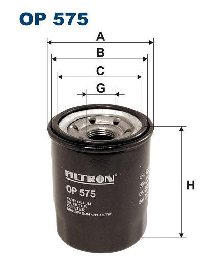 Filtr oleju FILTRON OP575 - darmowa dostawa do 5000 warsztatów Motointegrator Partner i 170 sklepów Inter Cars