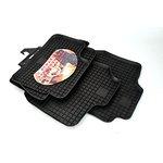 OPEL Astra III / Zafira B dywaniki gumowe czarny POLGUM PGP06