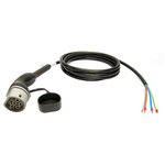 Kabel prosty Jazzy2Go 3-fazowy, 11kW, typu 2 do stacji AC, 5m