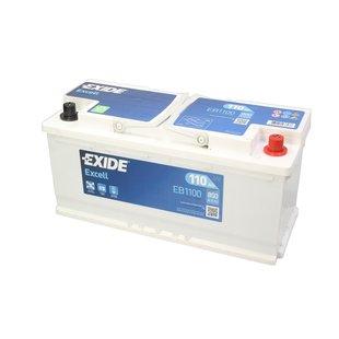 Akumulator EXIDE EXCELL 110Ah 850A P+