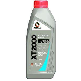 Olej COMMA XT2000 15W40, 1 litr