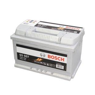 Akumulator BOSCH S5 74Ah 750A P+