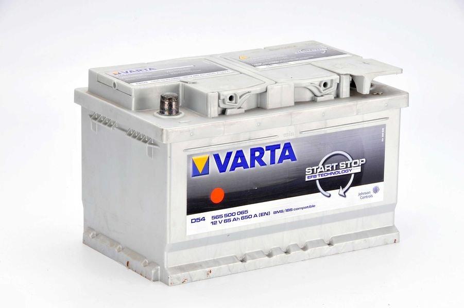 Akumulator VARTA START STOP D54 - 65Ah 650A P+