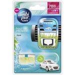 Zapach samochodowy AMBI PUR Aqua - urządzenie+wkład