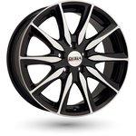 "Felga Aluminiowa 16"" DISLA Raptor BLACK DIAMOND 5x100"