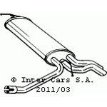 Tłumik układu wydechowego BOSAL 175-087
