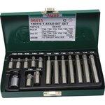 Zestaw końcówek wkrętakowych Torx HANS 10 mm 14 sztuk