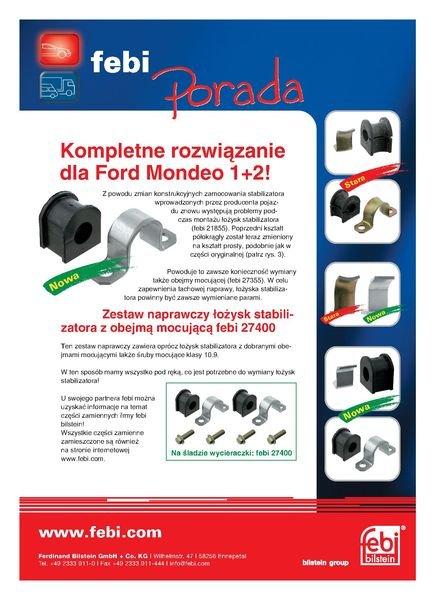 Zestaw naprawczy drążka stabilizatora FEBI 27400 - darmowa dostawa do 5000 warsztatów Motointegrator Partner i 170 sklepów Inter Cars
