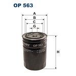 Filtr oleju FILTRON OP563