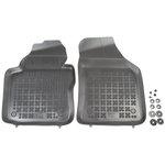 VW Caddy od 11/2003, 2 siedzenia / VW Caddy Maxi od 2007, 2 siedzenia  dywaniki gumowe  REZAW-PLAST RP-D 200107P