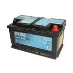Akumulator EXIDE START STOP EFB EL752 - 65Ah 650A L+