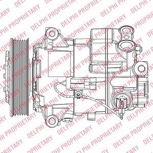 Kompresor klimatyzacji DELPHI TSP0155948