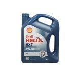 Olej SHELL Helix HX7 Professional AV 5W30, 4 litry