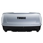 Kufer bagażowy montowany na dedykowanej platformie THULE Backup (420l.) - szary