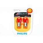 Żarówka (pomocnicza) PY21W PHILIPS Premium - blister 2 szt., cokołowa