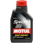 Olej MOTUL Specific 5W40, 1 litr