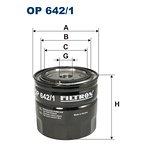 Filtr oleju FILTRON OP642/1